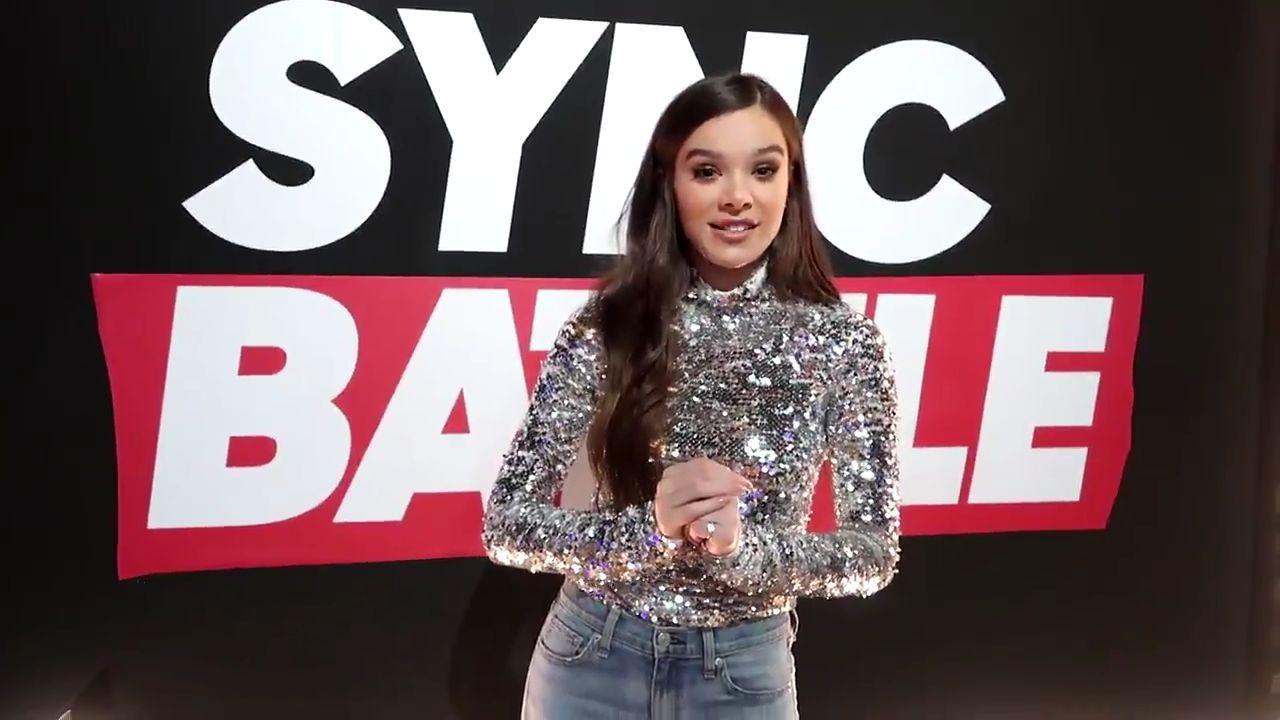 Hailee about Lip Sync Battle episode